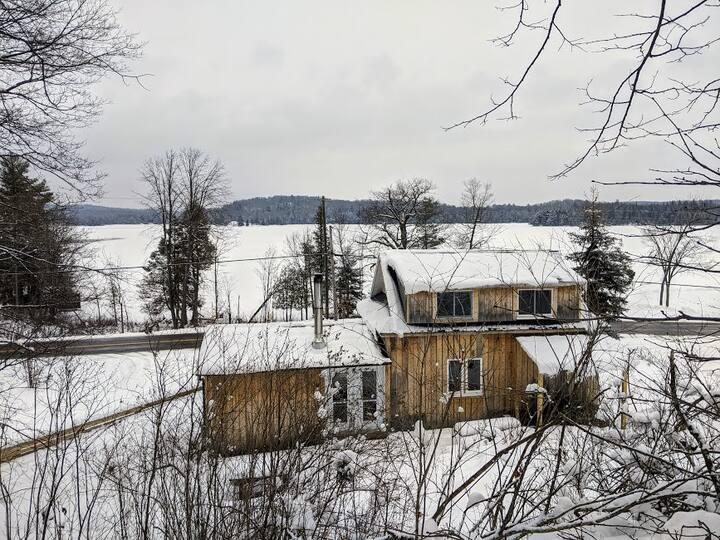 Winter Cottage on Stump Lake - Mississippi River