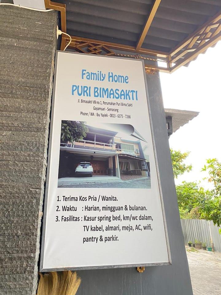 Family Home Puri Bimasakti Semarang
