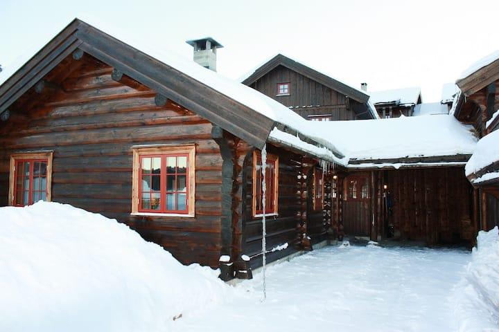Ragnhildbu - koselig tømret hytte med elbil lader