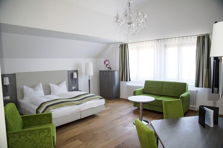 Grand Deluxe Doppel-/Zweibettzimmer