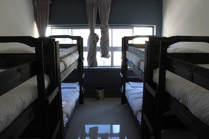 8 Beds in Female Dormitory