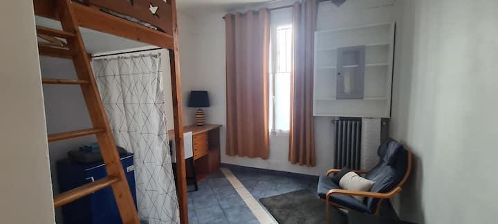 Chambres avec salle d'eau indépendante près Paris
