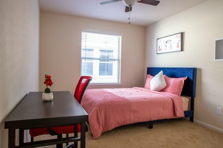 """Private Room """"C"""" near Med Center (Female Only)"""