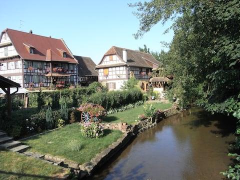 Lejlighed i Alsace-hus