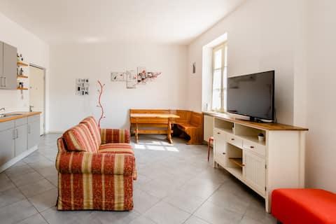 hOme acomodações em Franciacorta, apartamento de dois quartos 3 pessoas