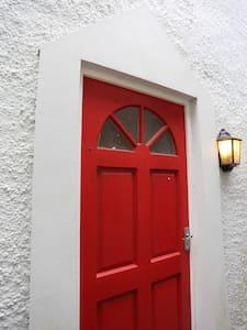 Front door.