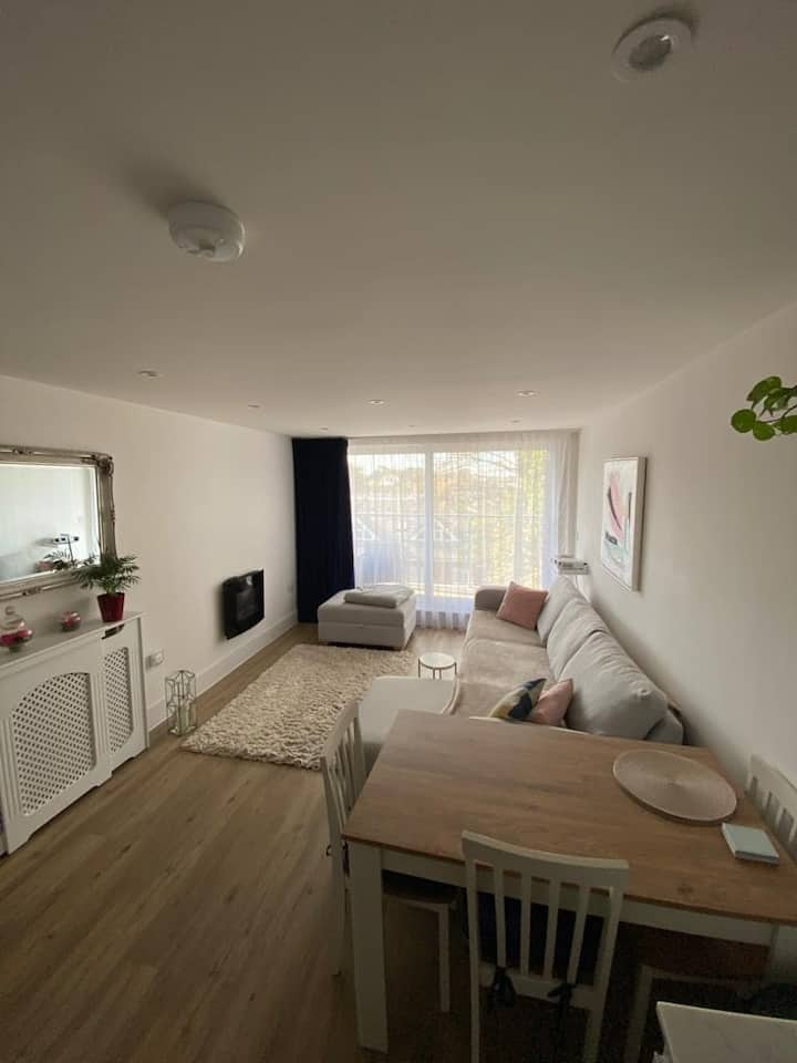 Modern/cosy central flat with balcony
