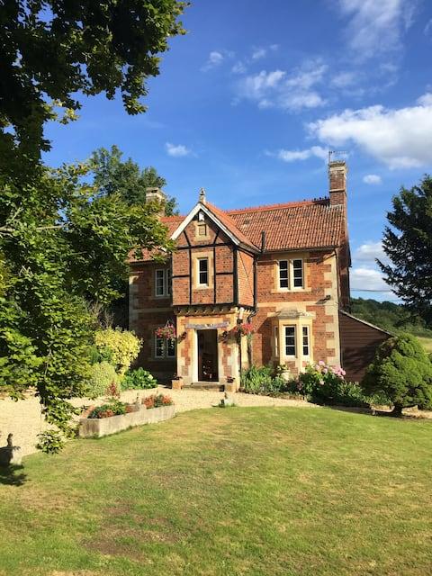 Hyggelig Lex Cottage med utsikt over National Trust Lacock