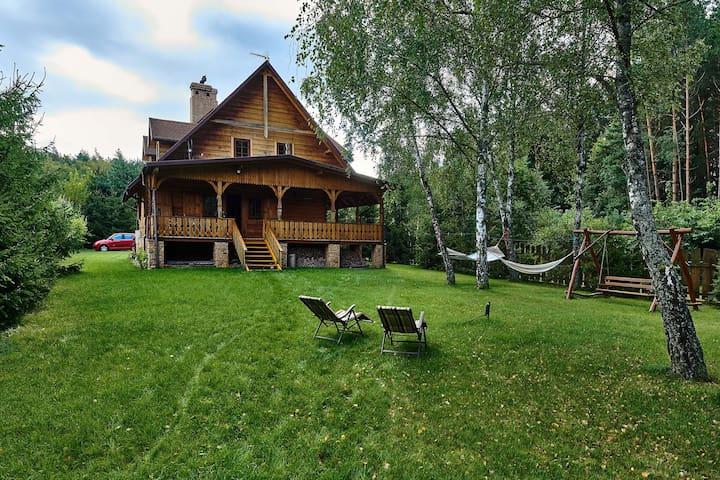 """""""Leśne SPA"""". Cały dom i ogród do dyspozycji"""