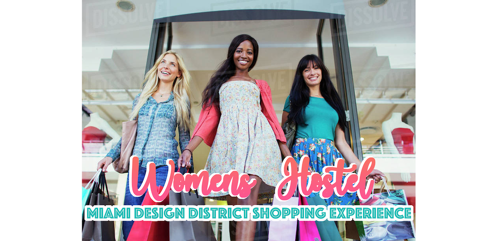 DESIGN DISTRICT WOMEN'S HOSTEL- SHOP GUCCI/PRADA