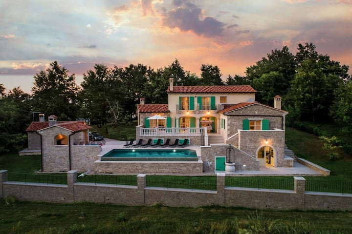 Villa Valffiorita in central Istria