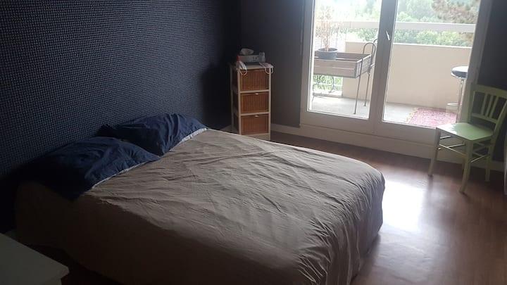 Chambre privée dans appartement résidence standing