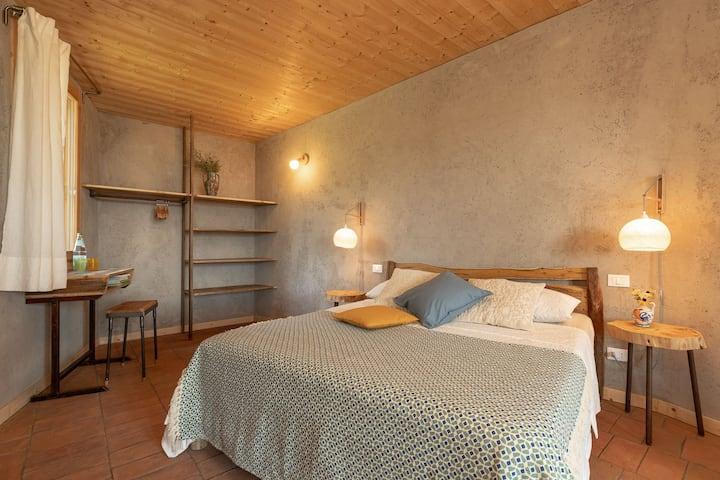 Casa Viva •stanza Paulonia •Eco Sleep & Bio Pool