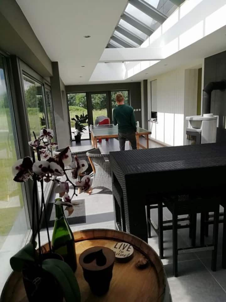 Maison spacieuse 8 personnes au coeur des Ardennes