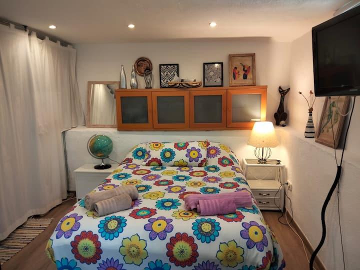 Habitación doble independiente en El Escorial