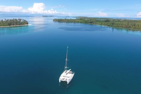 Explore the Belize Barrier Reef - luxury catamaran