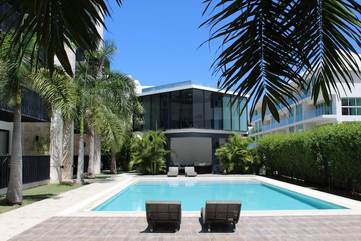 Peaceful & Contemporary/Gym/ BBQ+Pool View