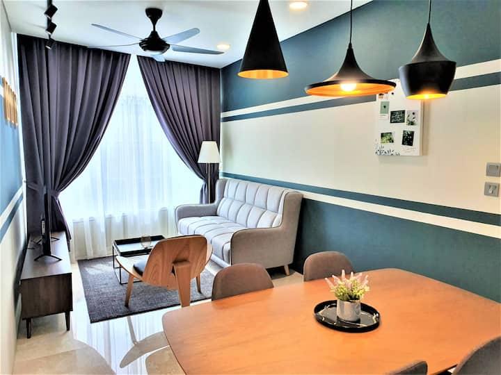 Orion Homes Sky Suites KLCC Comfortable 1B 30-F