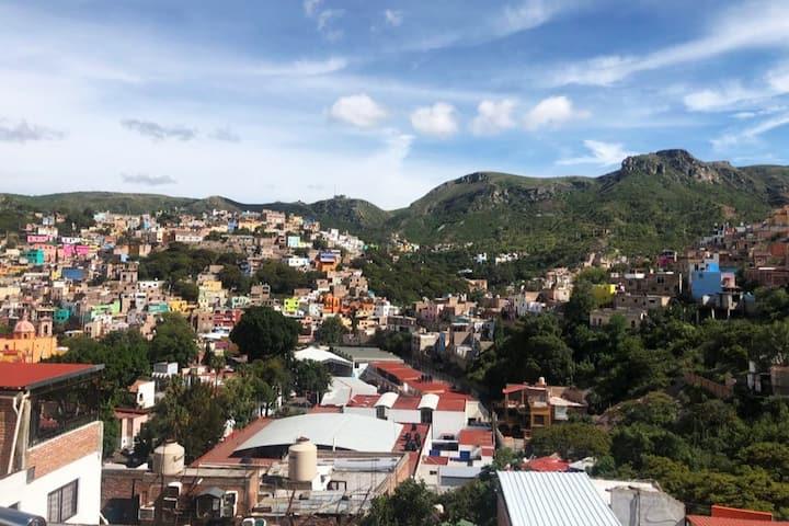 Casa corazón de Guanajuato vistas panorámicas 1