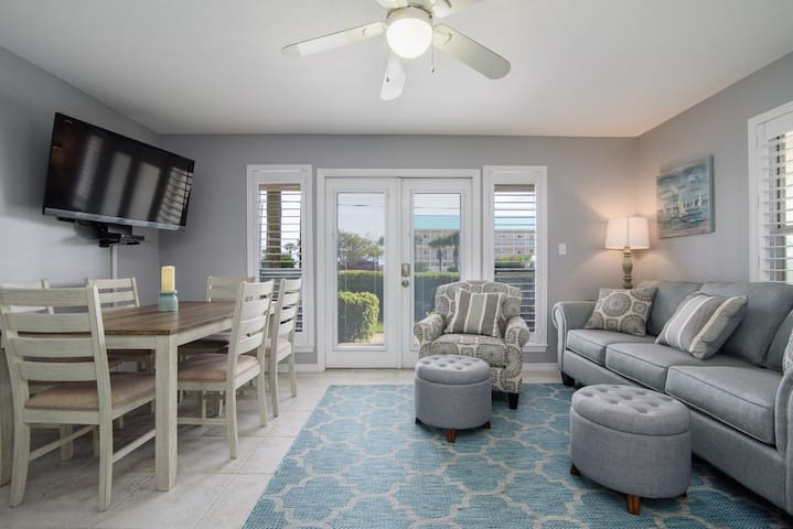 Newly Renovated Condo just steps away from beach