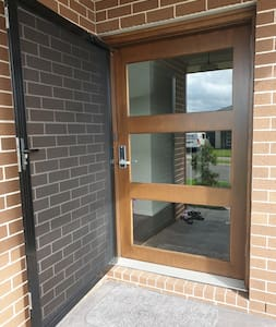 Our front door is 1.2 meters wide for easy access in and out.