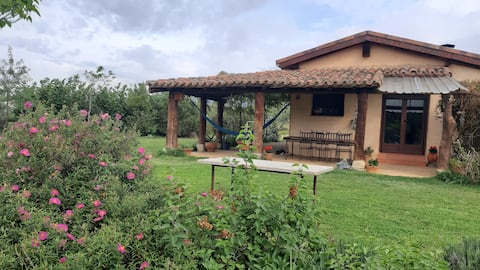 Guindal, bioclimatic home in a natural environment