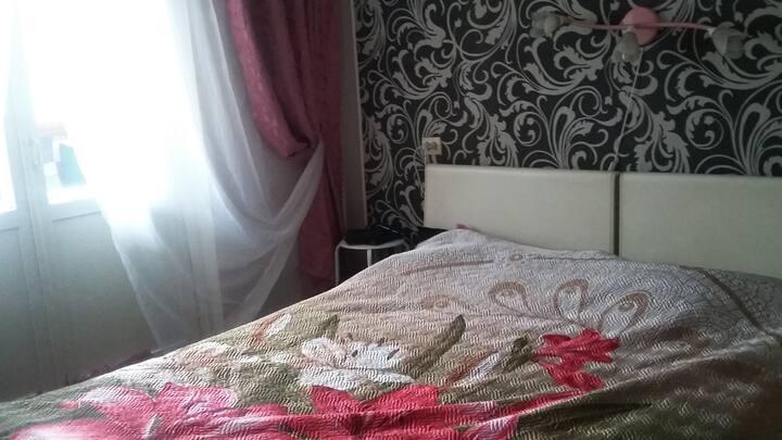 Две уютные смежные: спальня и гостиная  в трешке