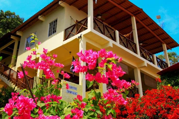 Eco Lodge Room1, Garden, Oceanview Patio, Hammocks