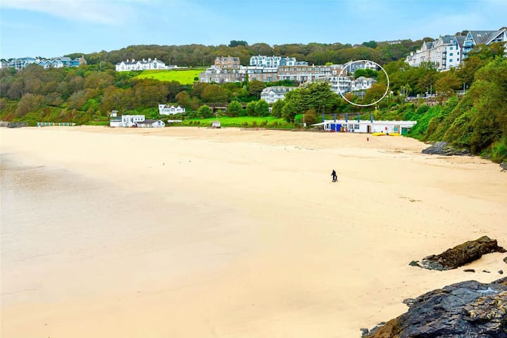 Victorian Villa apartment at Porthminster Beach