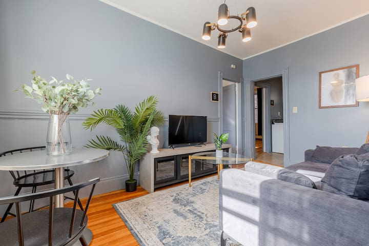 Spacious 3 Bedroom Apartment in North End