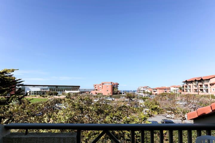 New ! 150 m de l'océan vues océan parking privé !