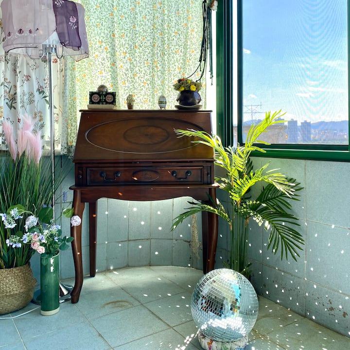 [소라맨숀] 한강뷰 3룸 모던빈티지 하우스