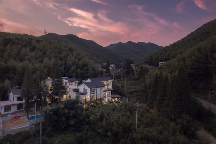 莫干山四房小VILLA!最适合亲子度假 情侣出游  团建的日式风网红民宿