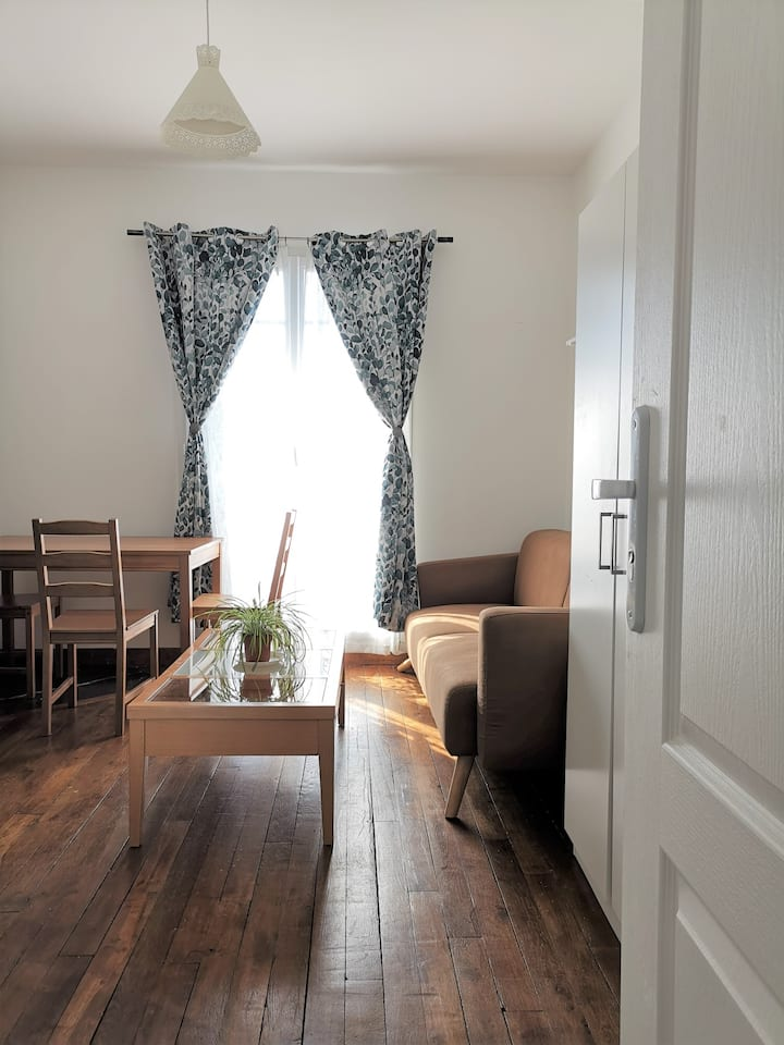 Private room 7 minutes from Paris - 14 m2