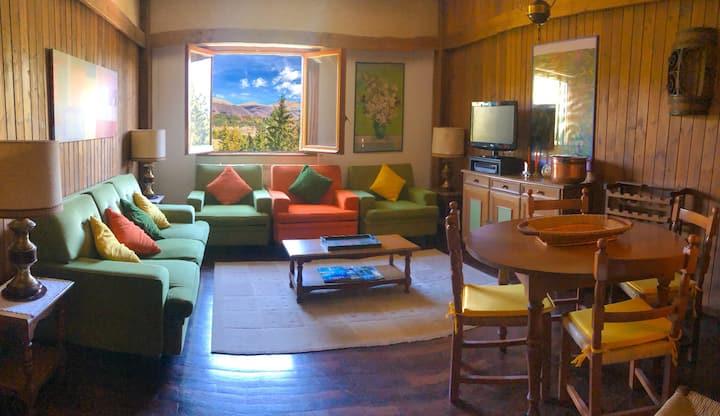 Appartamento nel verde con vista panoramica
