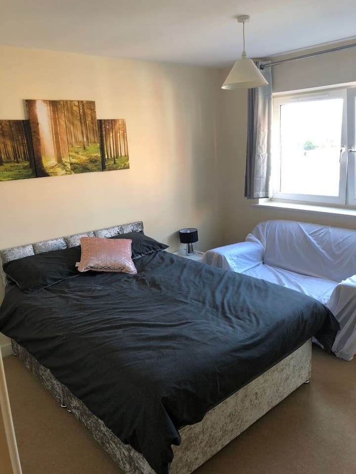 Preston City Centre Apartment Woodland Double Room