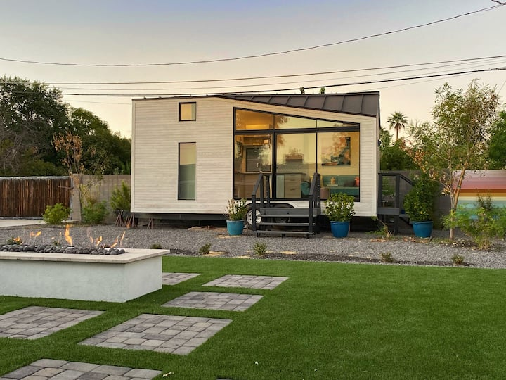 The Nest Tiny House at the Garden