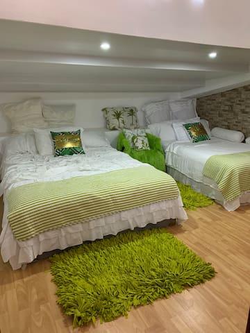 Habitación 2 con 2 camas