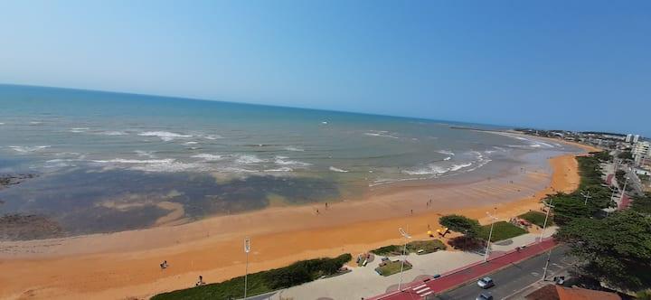 Praia de Jacaraípe-Serra(ES) de frente para o mar