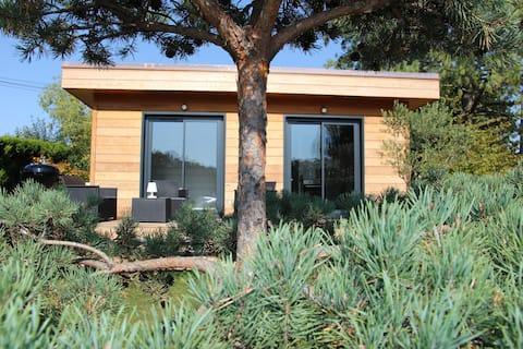 Premium Lake Mountain Wood House