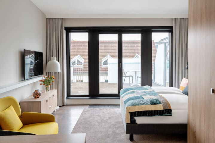 Studio-Apartments with Balcony in Berlin Mitte