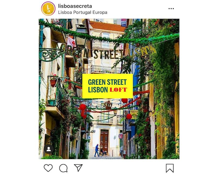 Green Street Lisbon Loft