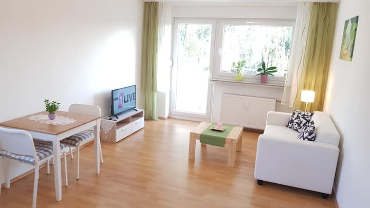 Renovierte 1-Zimmer Wohnung mit Balkon