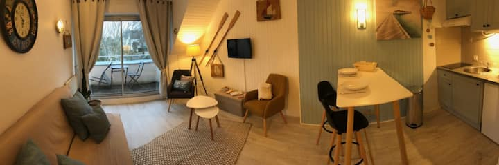 Appartement 2 étoiles à 50m de la plage - Tréboul