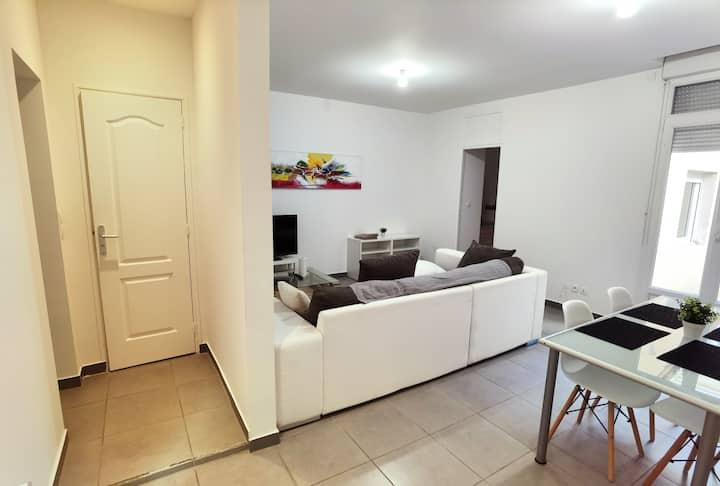Appartement avec terrasse double
