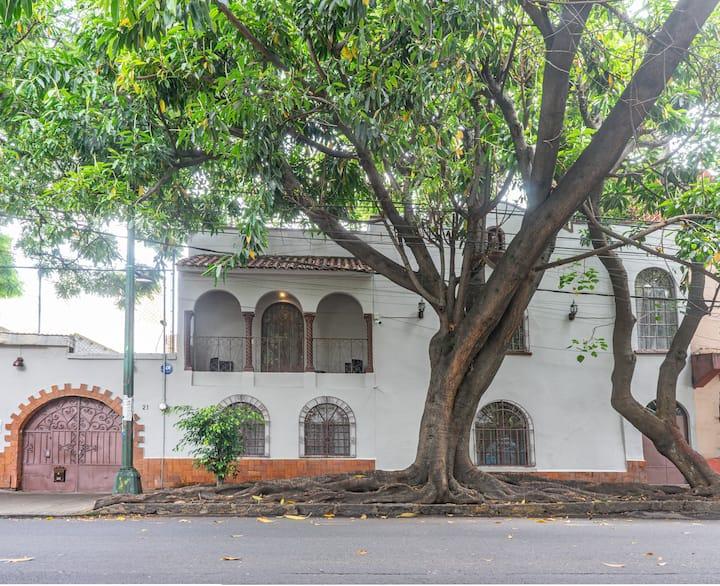 Habitación en Casa colonial en Centro de Coyoacán