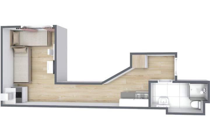 Studio flat on Staakenerstr / Spandau