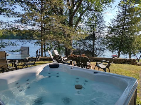 Newly Listed Lake House with Hot Tub