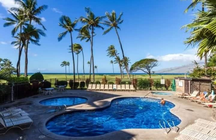 MAUI BEACH FRONT/OCEAN VIEW/Taxes Included