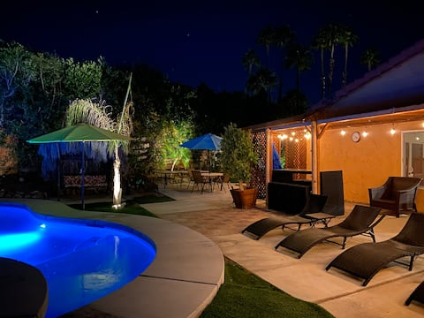 Escape the city,  lounge in your own private oasis